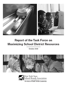 Report of the Task Force on Maximizing School District Resources
