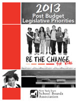2013 Post Budget Legislative Priorities