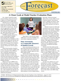 A Closer Look at Model Teacher Evaluation Plans