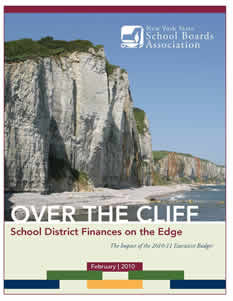 Over the Cliff: School District Finances on the Edge