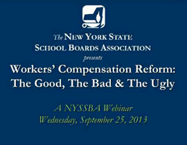 Workers' Compensation Reform webinar